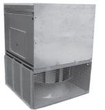 Крышный радиальный вентилятор дымоудаления