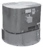 Крышные вентиляторы дымоудаления  ВКРВ2х ДУ