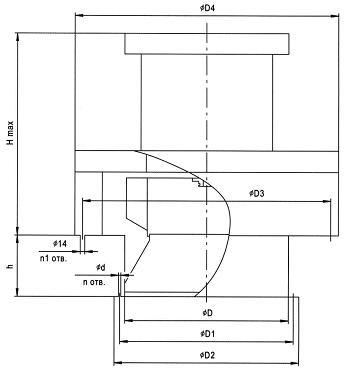 Схема вентилятора ВКР ДУ
