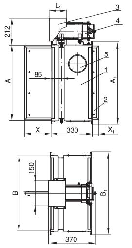 Схемы конструкции КЛОП®-1В